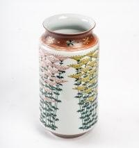 vase en porcelaine de kutani