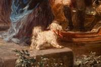 La promenade en barque par Jules Noël ( 1810-1881)