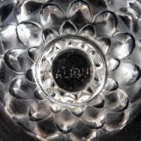 """Suite de 8 verres à eau """"Saint-Cyr"""" verre blanc de René LALIQUE"""