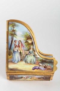 Piano miniature boite à musique époque Napoléon III 19e siècle