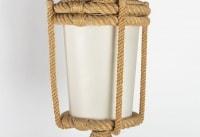 Lampadaire lanterne Audoux-Minet 1960