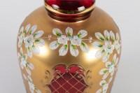 Carafe en verre de Bohême XIXème