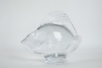 R Lalique Motif Decoratif  Lalique Glass Fish