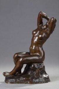 Le Désespoir - Aimé-Jules Dalou (1838-1902)