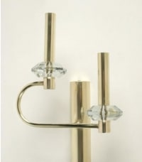 Gaetano Sciolari  Pair of Sconces, circa 1966