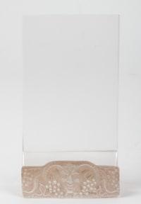 "Rene Lalique : Menu Holder"" Faune"""