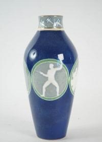 """Porcelaine de Sèvres - Vase """"sport """""""