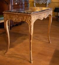 Table de style Régence en bois doré du XIXème siècle