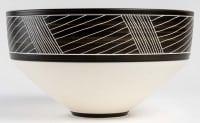 coupe en porcelaine par Marc Uzan - exposition en cours