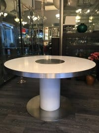"""Willy Rizzo Dining Table """"Savage"""""""