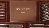ORFEVRE TETARD - MENAGERE EN ARGENT MASSIF 185 PIECES- ART DECO