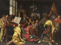 Exposition Un Marchand, Un Artiste - Galerie Art Antiquities Investment avec Joos van Winghe