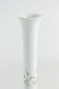 Vase bouteille cigogne en porcelaine de Sèvres - céramique art nouveau