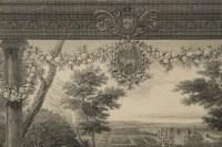 Paire de gravures représentant le château de Blois et le château de vincennes gravées par Skelton et éditées par le musée du Louvres.