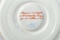 Pot Couvert et Soucoupe signés Le Tallec milieu du 20e siècle