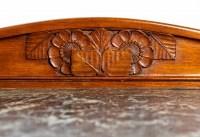Petit meuble du début du XXème siècle. Style Art Nouveau.