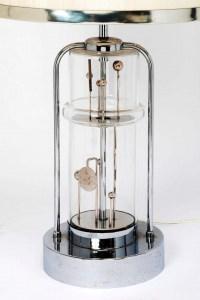 Lampe cinétique des années 1970 à mouvement rotatif