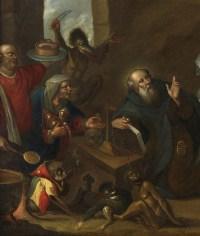 Tentation de Saint-Antoine – Atelier de Frans II Francken (1581 – 1641)