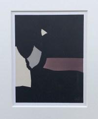 Nicolas De Staël ( d'après ) Composition sur fond noir, Lithographie de 1958