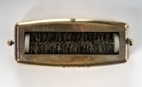 Ramasse miette en bronze, 1980 - 1990, style Art nouveau