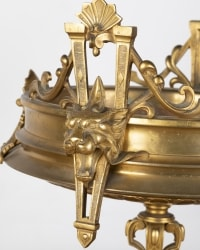 A French 19th Century Neo-Classical Ormulu and Marble Tazza.
