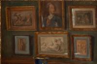 Tableau de J.C. Rosenberg Scène d'intérieur XIXème