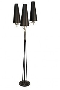 1950s Floor Lamp by Maison Lunel0