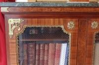 Bibliothèque basse St Louis XIV