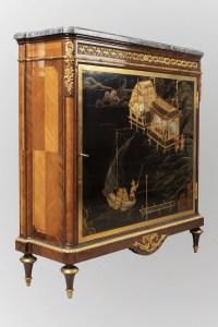 A French 19th Century Louis XVI St. Kingwood Meuble D'appui.