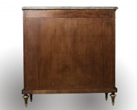 A French 19th Century Louis XVI St. Kingwood Meuble D'appui.
