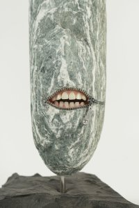 Sculpture en pierre dans le goût de Hirotoshi Itoh (1964-)
