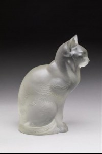 "RENÉ LALIQUE (1860-1945)Sujet "" Chat Assis """