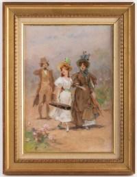 Frederik Hendrik KAEMMERER (La  Haye 1839 - Paris 1902)  peintre néerlandais
