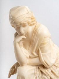 Sculpture en Albatre, XIXème siècle