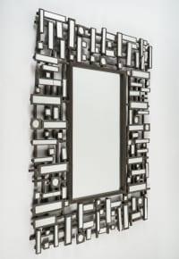 Paire De Miroirs, Art Moderne