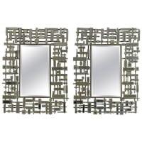 Pair Of Mirrors, Modern Art