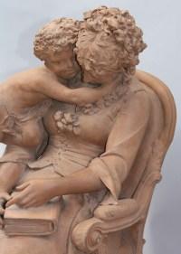 Sculpture en terre cuite Lucas Madrassi