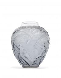 """René LALIQUE (1860 – 1945) Vase """"Archers"""""""