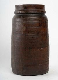 Vase Art Africain, en Bois, XXème siècle .