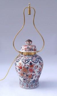 Potiche en porcelaine Imari