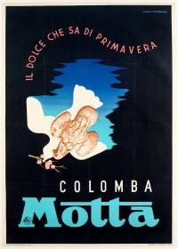 Original Poster - Cassandre - Colomba - Motta - Italian - Easter - Cake - 1936