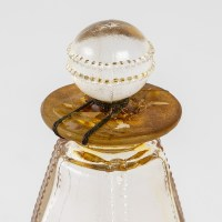 """Flacon """"Rien que du Bonheur"""" verre blanc de René LALIQUE pour ARYS"""