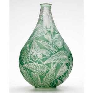 René LALIQUE (1860-1945) - Vase « Sauge».