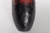 Vase de DAUM Nancy aux Dahlias époque 1900