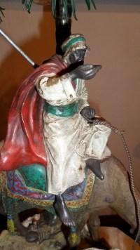 Bronze de vienne, lampe. Réf: 303