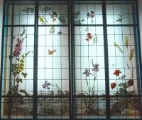 vitraux bord de l'étang