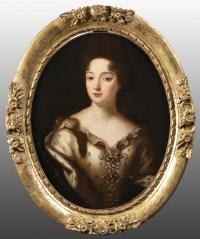 Portrait d'une noble sous le règne Louis XIV - Entourage de Pierre Mignard