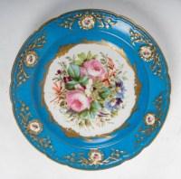 Paire d'assiettes, XIXème