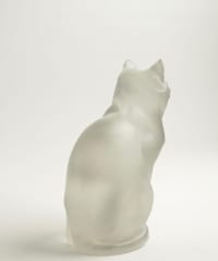 "René Lalique (1860-1945)  ""Chat Assis"""