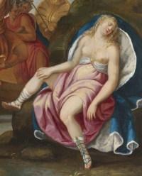 Bacchus et Ariane - Ecole française du XVIIe siècle
